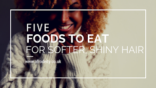 Eat These Foods for Softer, Shiny Hair