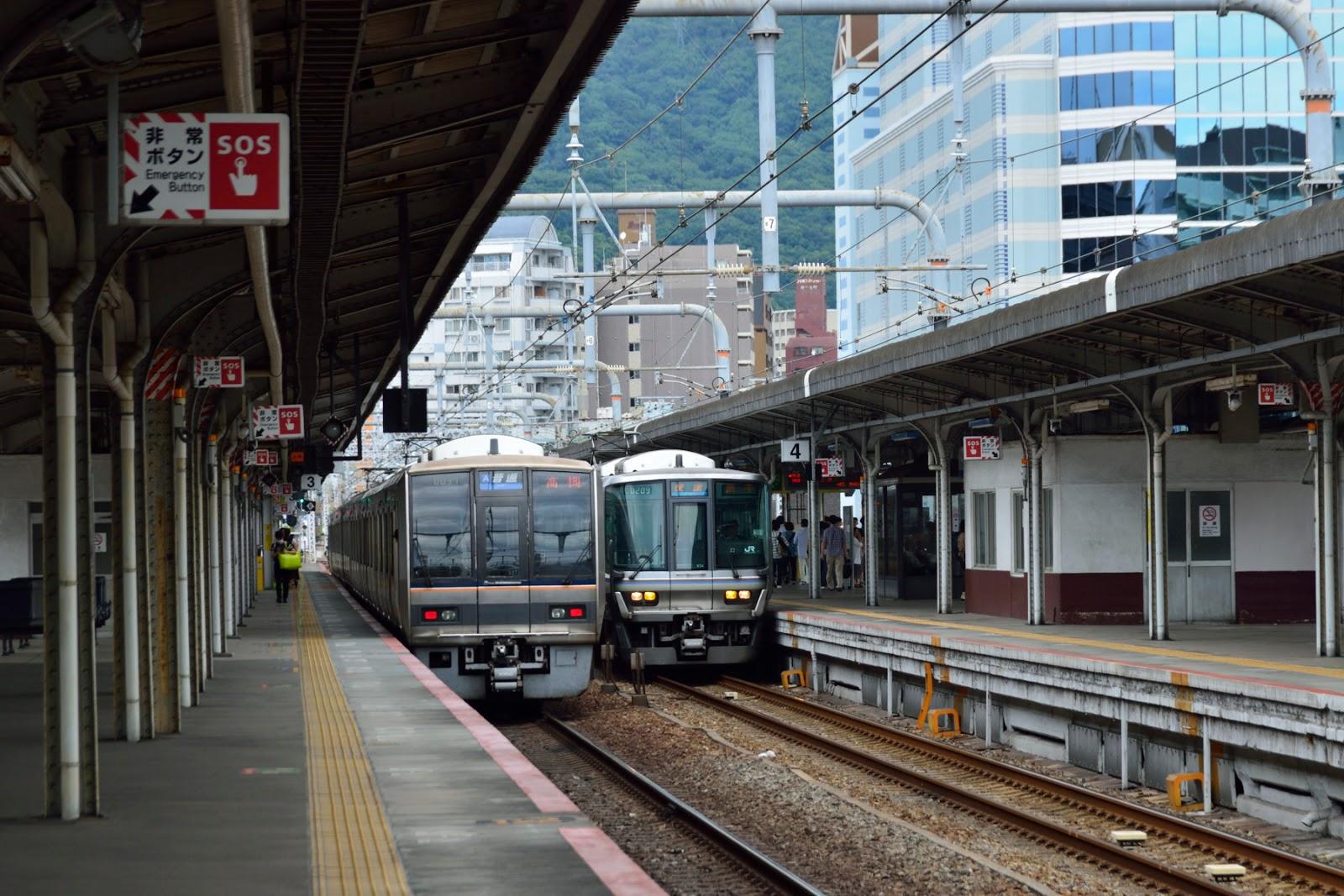 Tokiwai's Photo Blog: 東海道本線 神戸駅