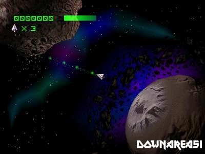 Asteroids PSX Game Pitcure