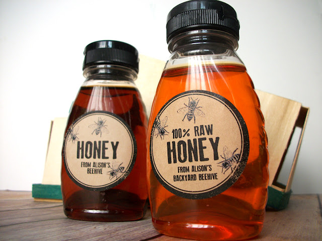 custom honey label