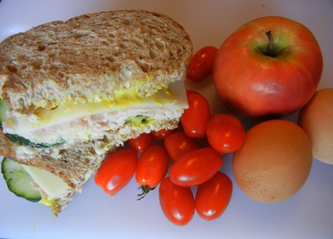 Andrea's Wellness Notes: Simple, Basic Turkey Sandwiches