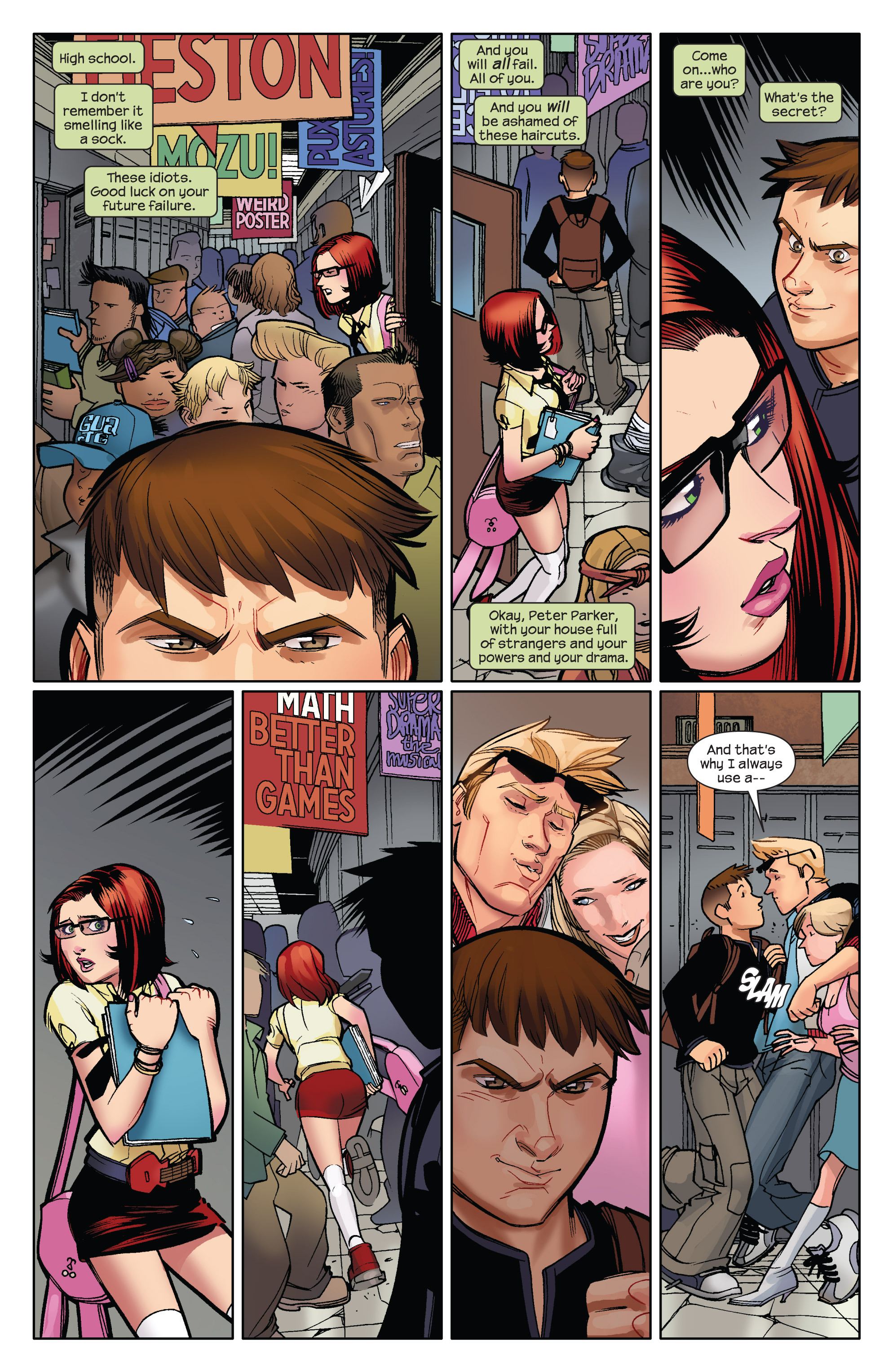 Read online Ultimate Spider-Man (2009) comic -  Issue #12 - 15