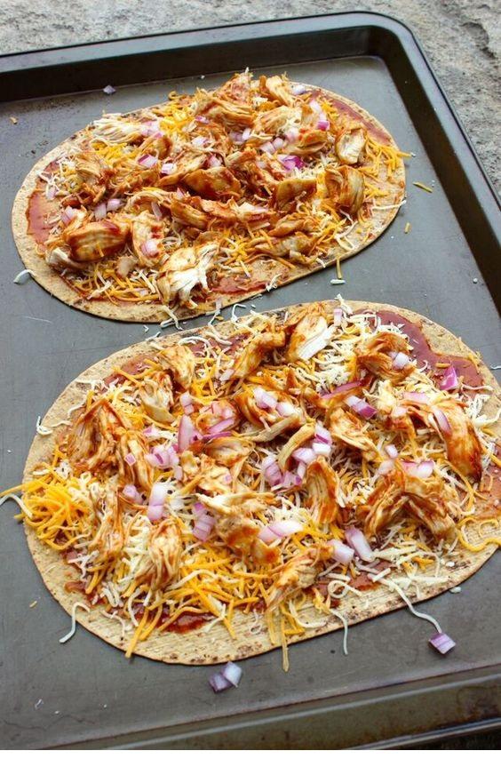 Bbq Chicken Flatout Pizza