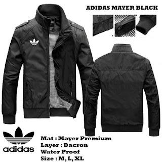 Jaket Waterproof Adidas Mayer Murah
