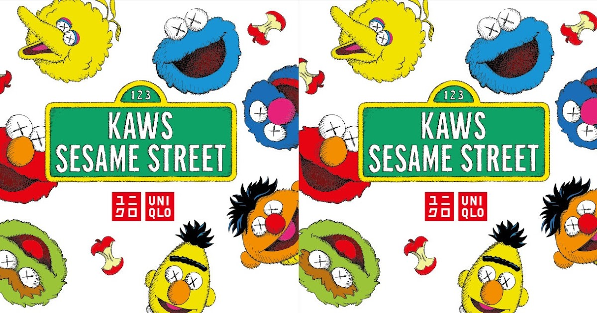 7eead41951eb The Blot Says...  KAWS x Sesame Street T-Shirt Collection by Uniqlo