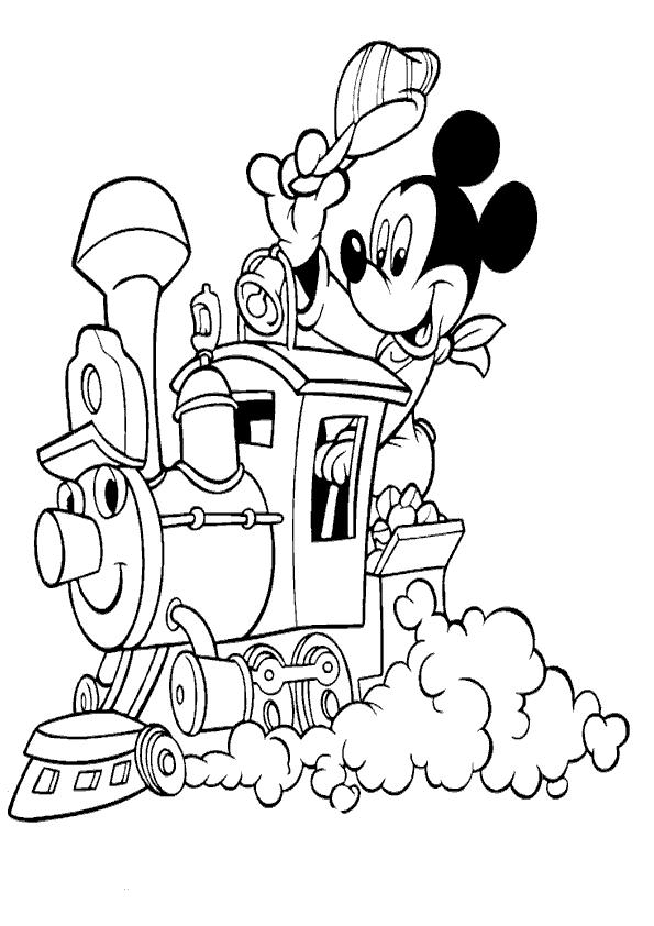 Imagenes Para Colorear De Mickey Mouse