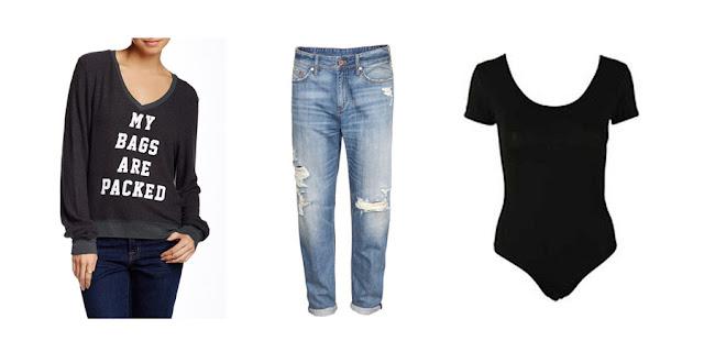 Wildfox Jumper, Boyfriend Jeans, Bodysuit, College Blogger, Lifestyle Blogger