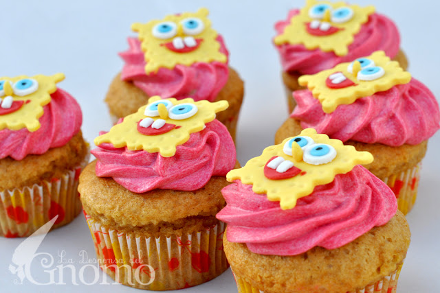 Cupcake Bob Esponja