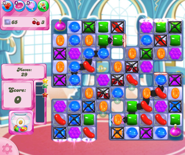 Candy Crush Saga level 2657