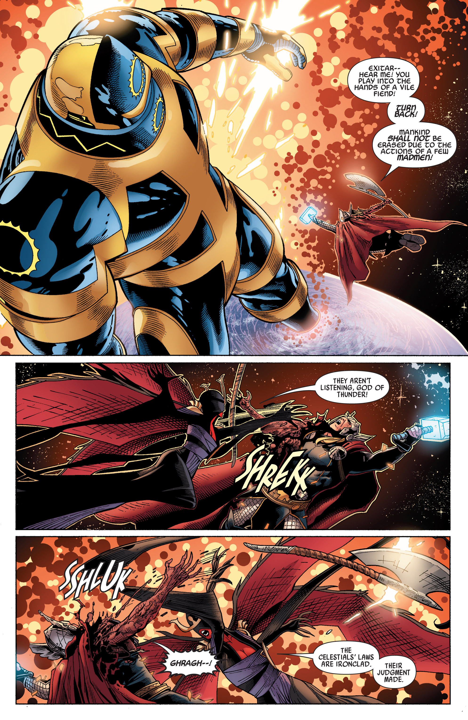 Read online Uncanny Avengers (2012) comic -  Issue #17 - 16