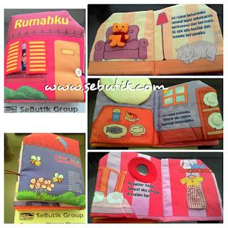 Buku Bantal Rumahku Pink