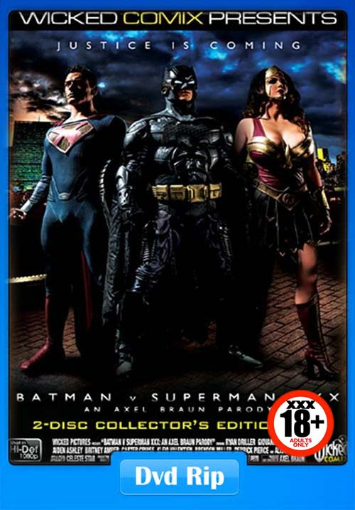 [18+] Batman V Superman XXX An Axel Braun Parody (Wicked Pictures) 2015 XXX DVDRip x264