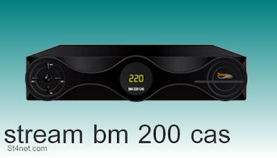 stream bm 200 cas