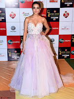 Surveen Chawla in a Deep Neck Gown Walk the Red Carpet of Zee Awards 2017i ~  Exclusive Galleries 012.jpg