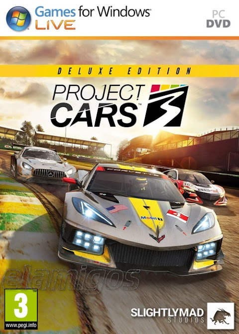 Download Project CARS 3 Deluxe Edition (2020) for pc