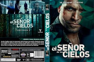 CARATULA[SERIE TV] EL SEÑOR DE LOS CIELOS TEMPORADA 6 [COVER DVD]