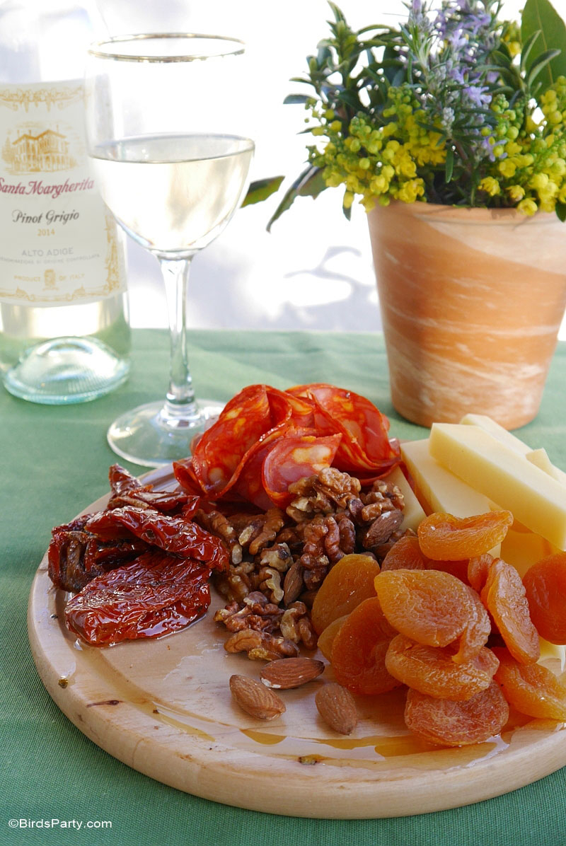 Pino Grigio Wine & Food Pairings - BirdsParty.com