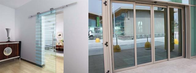 Hình ảnh cửa kính lùa và cửa lùa nhôm