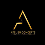 Atelier concept logo