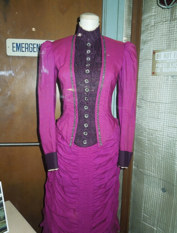 Clara Clayton Back to the Future Part III Western gown