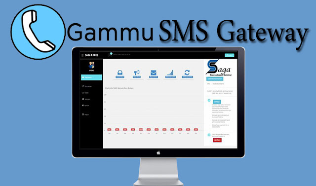 Download Aplikasi SMS Gateway Gammu dengan PHP