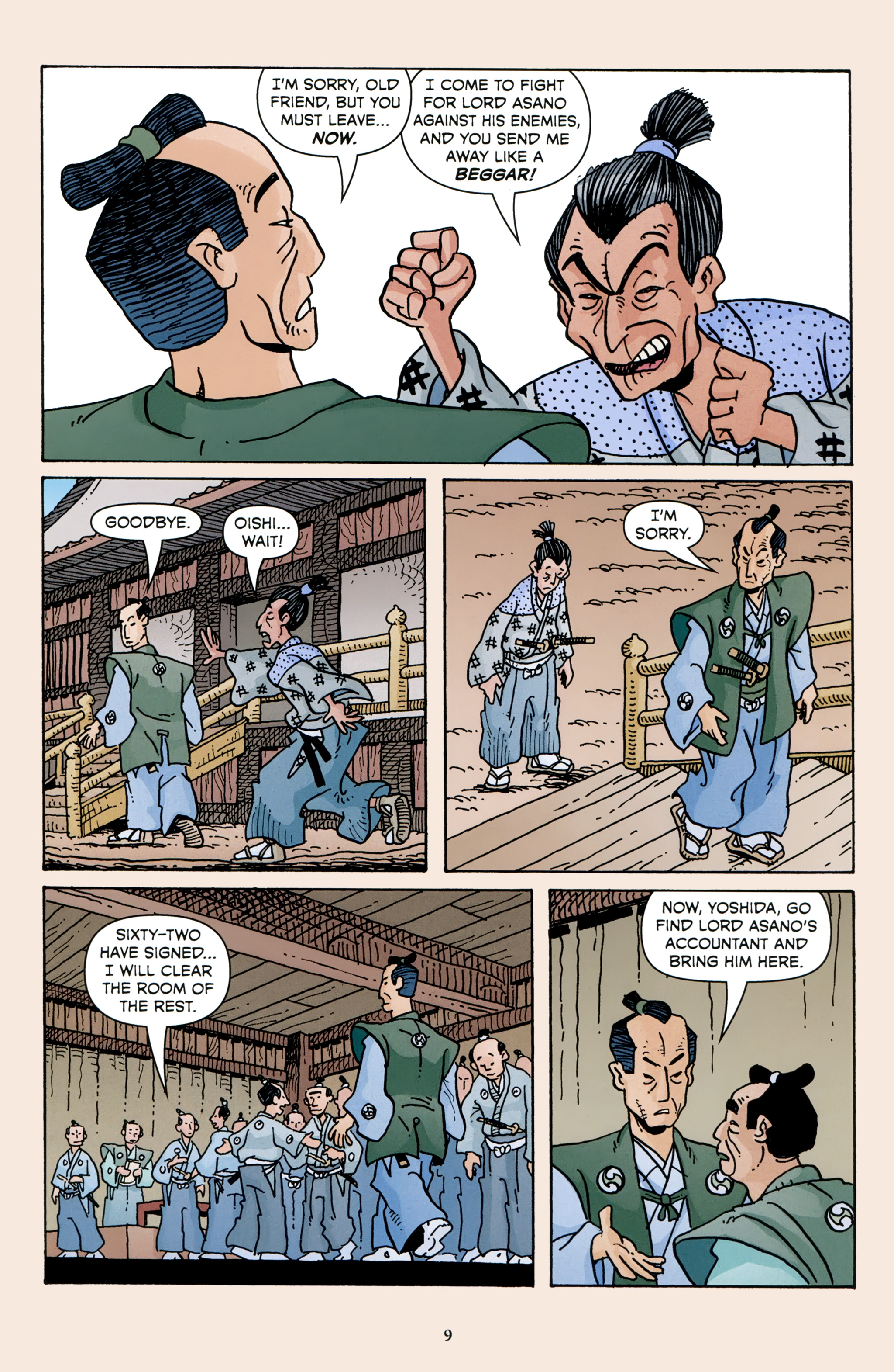 Read online 47 Ronin comic -  Issue #3 - 11