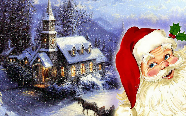 Merry Christmas Santa Claus Images 2015