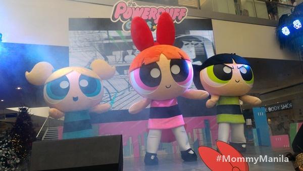 The Powerpuff Girls In Mall Of Asia