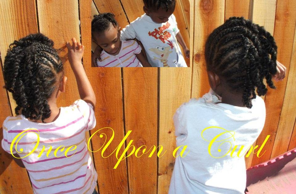 Once Upon A Curl: Boys Braided Faux Hawk, With Twist