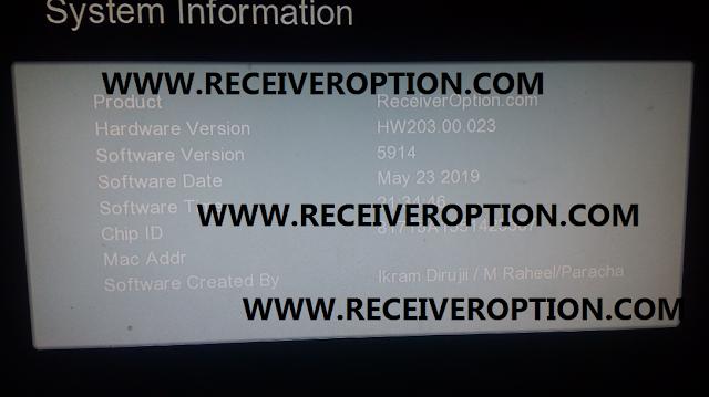 GX6605S HW203.00.023 HD RECEIVER CLINE OK NEW SOFTWARE