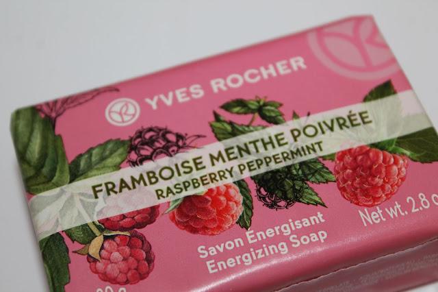 Savon Énergisant Framboise Menthe Poivrée - Yves Rocher