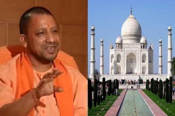 cm-yogi-adityanath-will-visit-agra-taj-mahal-on-25-october-2017