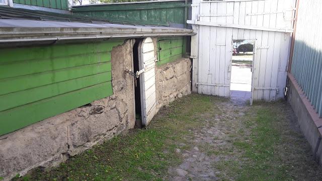 Soveliuksen talon Portti sisäpihalta