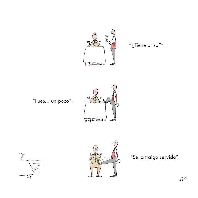 Humor en cápsulas. Lunes, 9 de mayo de 2016