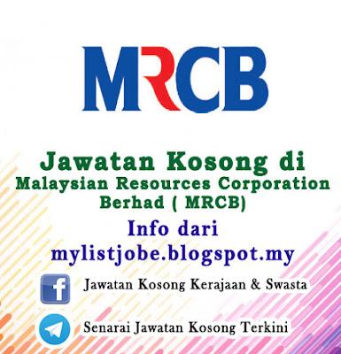 Jawatan Kosong di Malaysian Resources Corporation Berhad