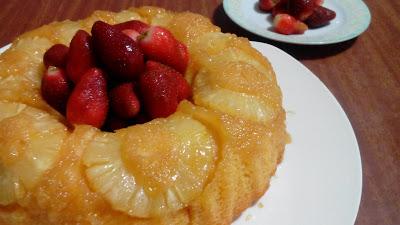 receta-de-bundt-cake-de-piña
