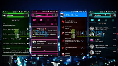 BBM Mod Droid Chat! 2.13.1.13 Tron Evolution Series Apk