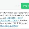 Cara Daftar Paket Internet 3 Murah, 2Gb Cuma 1500, Wow Murah Banget