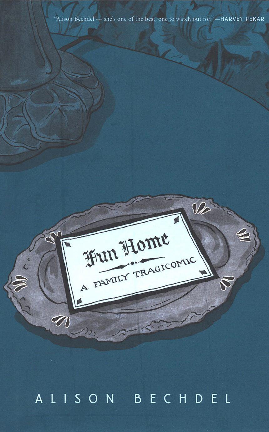 Cover of Fun Home: A Family Tragicomic