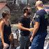 Σάκης Τανιμανίδης και Χριστίνα Μπόμπα στους πληγέντες από τη φωτιά Δείτε φωτογραφίες