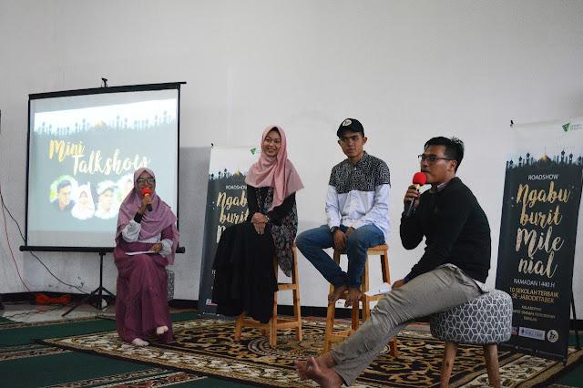 Dompet Dhuafa Pendidikan Gelar Roadshow Ngabuburit Bersama Milenial