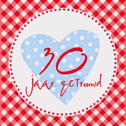 30 jarig huwelijk 12,5 jaar getrouwd | huwelijk | trouwkaarten: 30 Jaar Getrouwd 30 jarig huwelijk