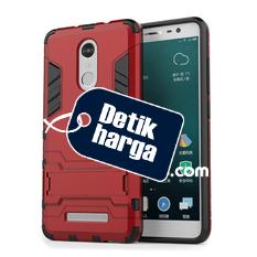 Back Case Xiaomi Redmi Note 3 Pro Iron Man Kick Stand Series - Merah
