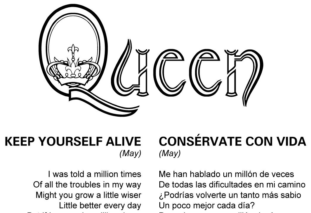 Letras Traducidas - Queen