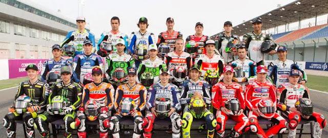 Daftar Pembalap Moto GP 2013