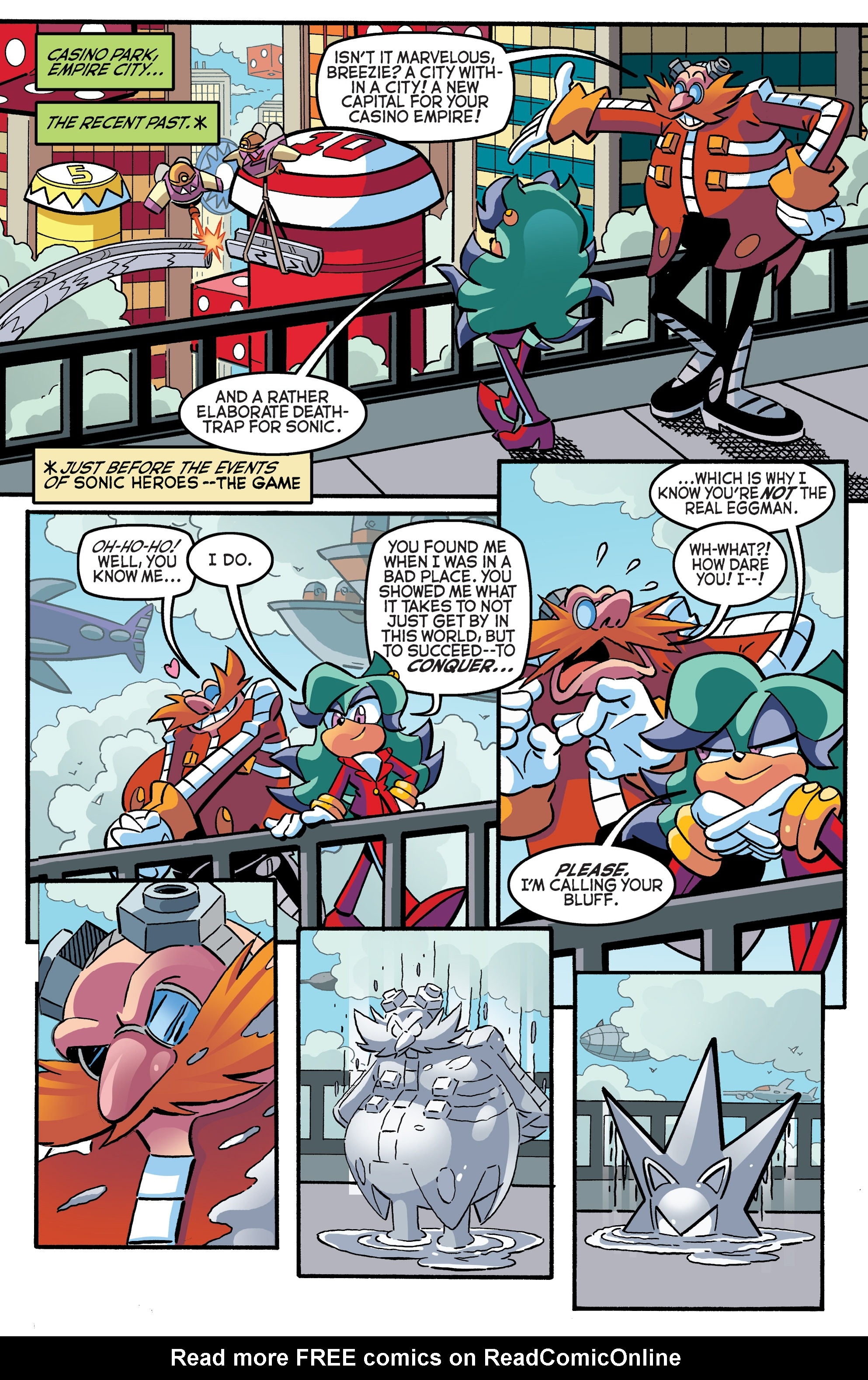 Read online Sonic The Hedgehog comic -  Issue #270 - 3
