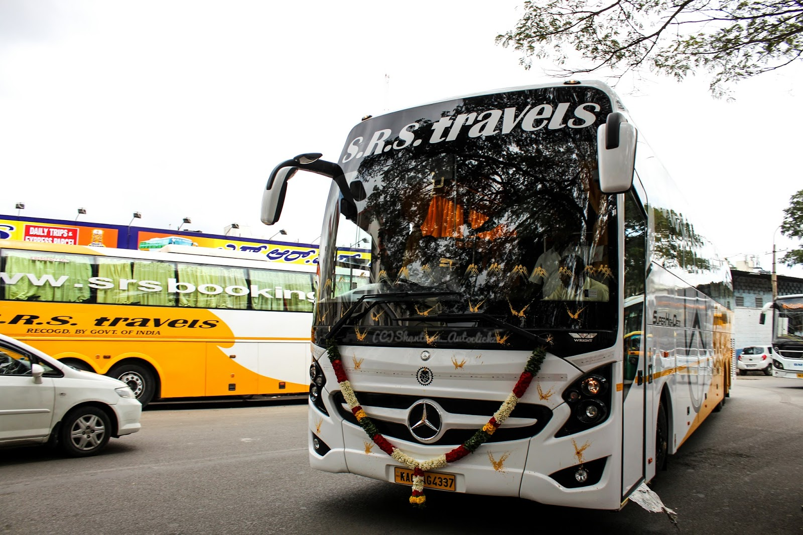 shantanu autoclickz: srs travels brand new mercedes benz shd 2436