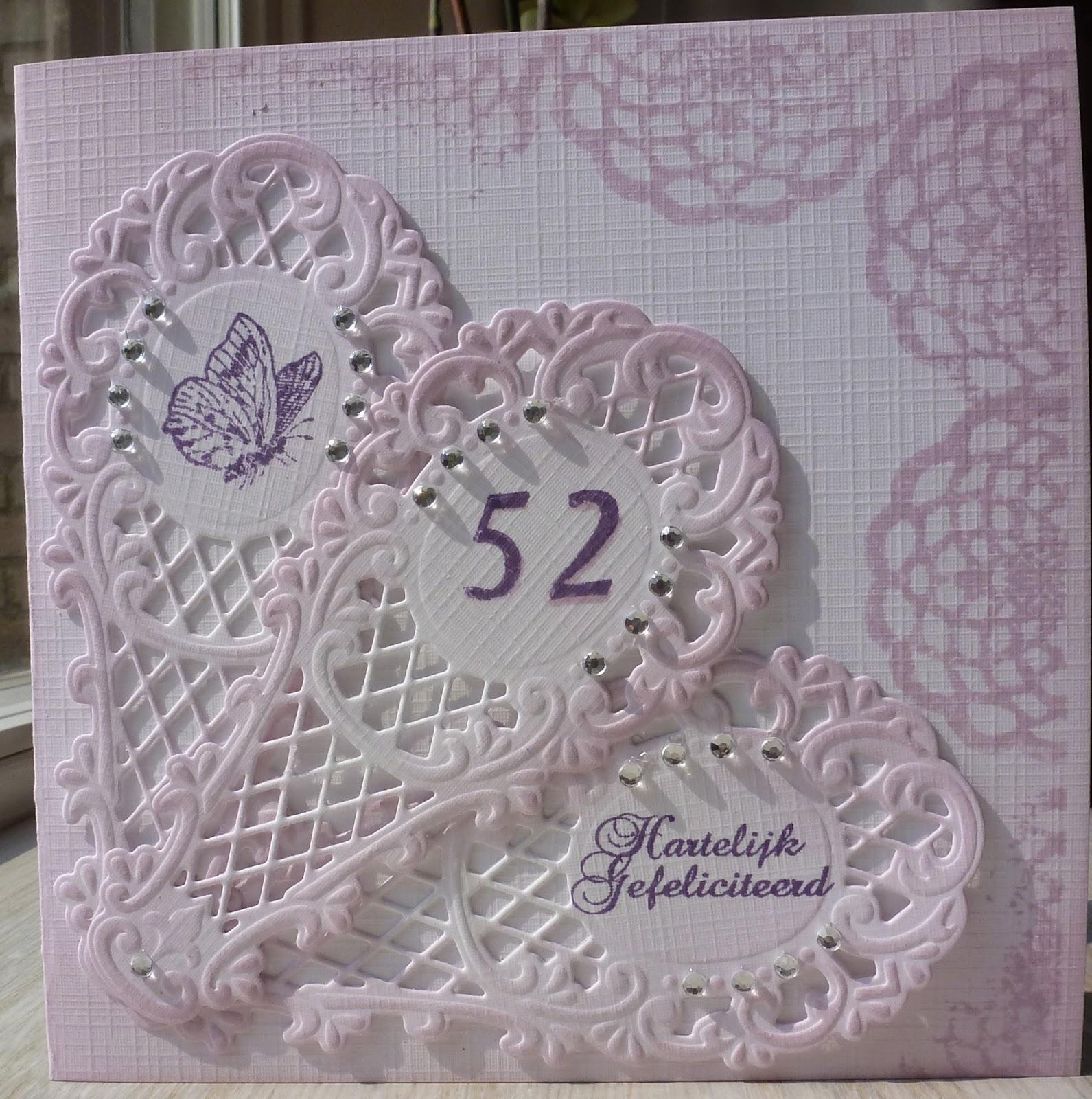 52 jaar getrouwd Andrea's cards: 52 jaar getrouwd 52 jaar getrouwd