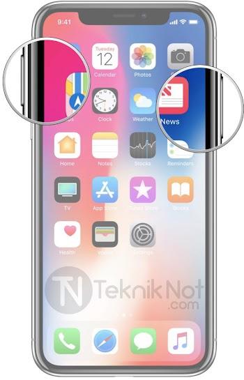 iPhone X, iPhone XS, iPhone XS Max, iPhone XR Ekran Görüntüsü