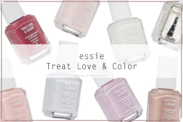 essie Treat Love & Color Strengthener Nail Polish Review